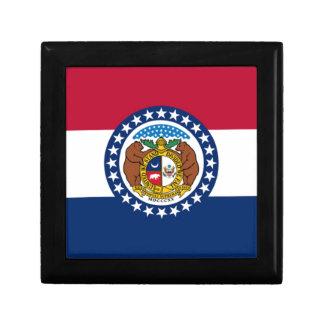 Boîte À Souvenirs Drapeau du Missouri