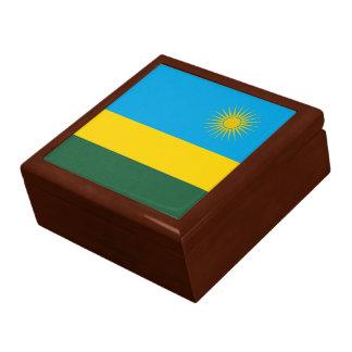 Boîte À Souvenirs Drapeau du Rwanda
