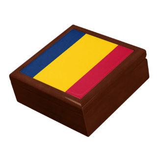 Boîte À Souvenirs Drapeau du Tchad