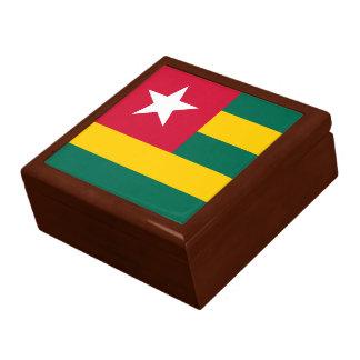 Boîte À Souvenirs Drapeau du Togo