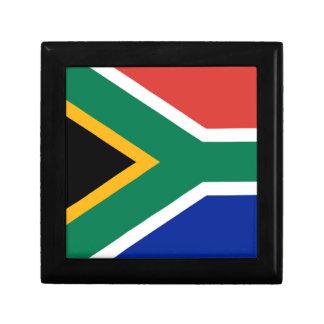 Boîte À Souvenirs Drapeau national sud-africain