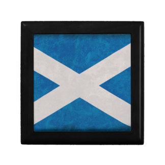 Boîte À Souvenirs Drapeau scotland Ecosse