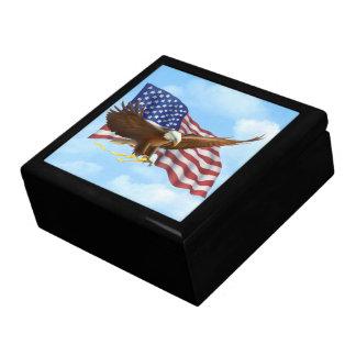 Boîte À Souvenirs Eagle chauve américain