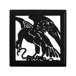 Boîte À Souvenirs Eagle et serpent