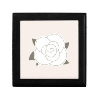 Boîte À Souvenirs Eco de brun de rose de conception