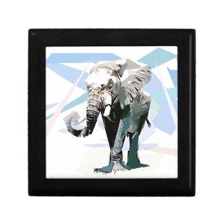 Boîte À Souvenirs éléphant d'afrique