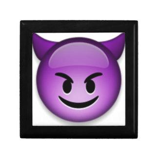 Boîte À Souvenirs Emoji vilain font face