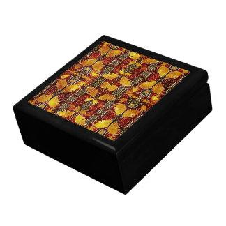 Boîte À Souvenirs En flammes - motif d'art déco
