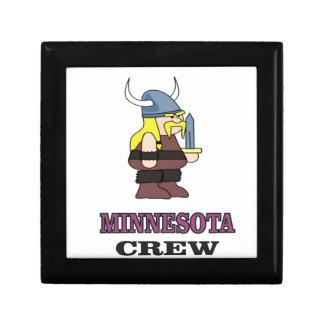 Boîte À Souvenirs Équipage du Minnesota