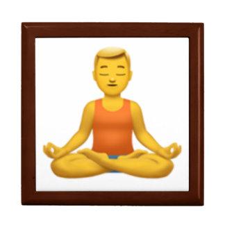 Boîte À Souvenirs Équipez en position de Lotus - Emoji