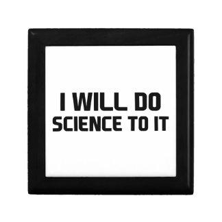 Boîte À Souvenirs Faites la Science à elle