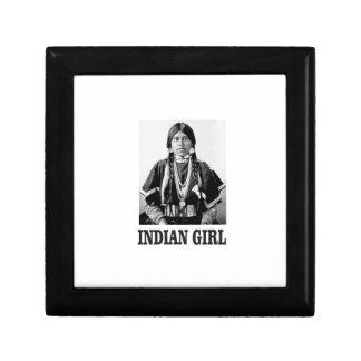 Boîte À Souvenirs Femme indienne
