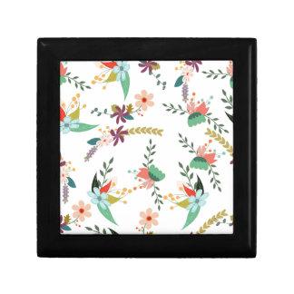 Boîte À Souvenirs Floral, art, conception, beau, nouvelle, mode,