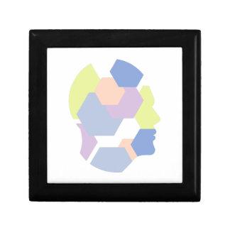 Boîte À Souvenirs Formes géométriques à l'intérieur de conception
