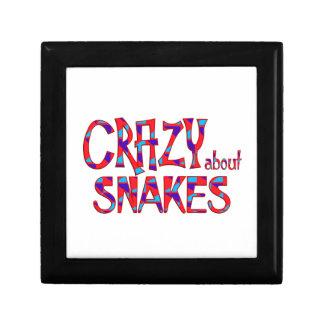 Boîte À Souvenirs Fou au sujet des serpents