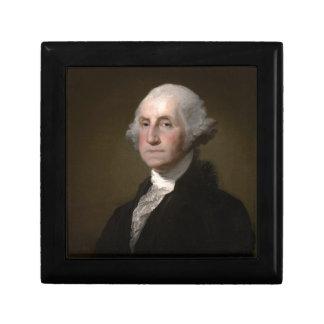 Boîte À Souvenirs George Washington - portrait vintage d'art