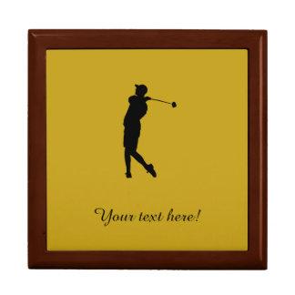 Boîte À Souvenirs Golfeur