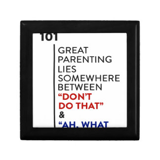 Boîte À Souvenirs Grand conseil de condition parentale du Parenting