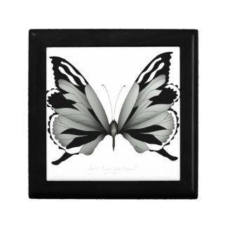 Boîte À Souvenirs Grand papillon sage de vulpin