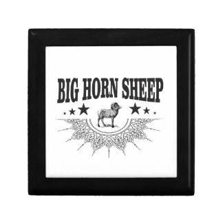 Boîte À Souvenirs grands moutons à cornes de chasse