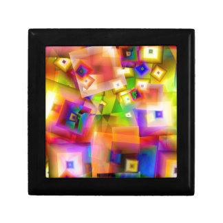 Boîte À Souvenirs Graphique-art coloré