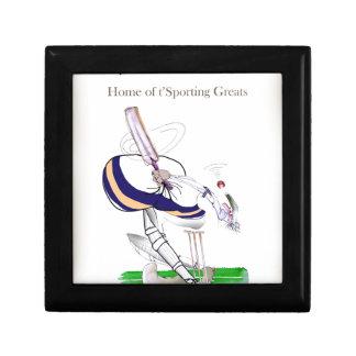 Boîte À Souvenirs Greats sportifs de cricket de Yorkshire d'amour '