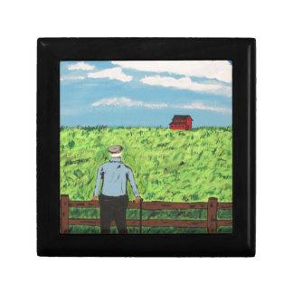 Boîte À Souvenirs Griff et la grange rouge