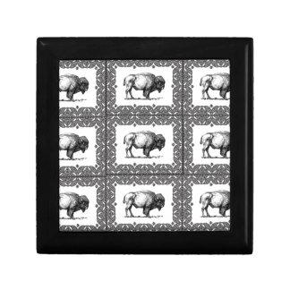 Boîte À Souvenirs groupes de bison
