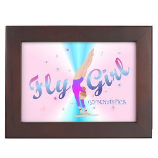 Boîte À Souvenirs Gymnastique - boîte de souvenir de fille de mouche