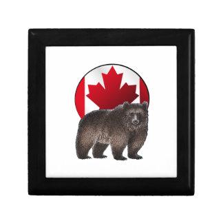 Boîte À Souvenirs Habitat canadien