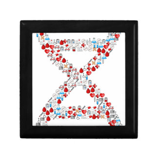 Boîte À Souvenirs Hélice médicale d'ADN