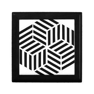 Boîte À Souvenirs Hexagones
