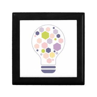 Boîte À Souvenirs Hexahedrons à l'intérieur de pâte de conception