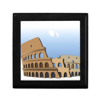 Boîte À Souvenirs Histoire antique Italie de Colisé de Coliseo Roma