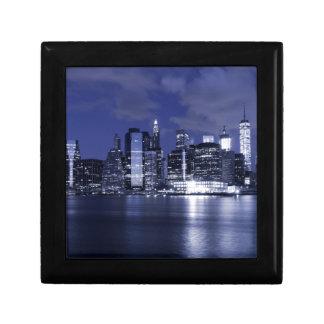 Boîte À Souvenirs Horizon de New York la nuit