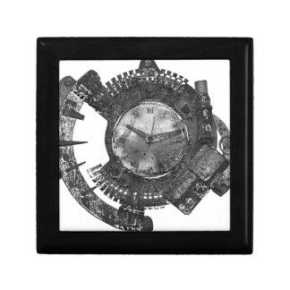 Boîte À Souvenirs Horloge de Steampunk