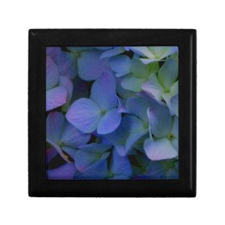 Boîte À Souvenirs Hortensias pourpres violets