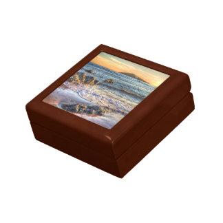 Boîte À Souvenirs Île de Burgh de Bantham au crépuscule…