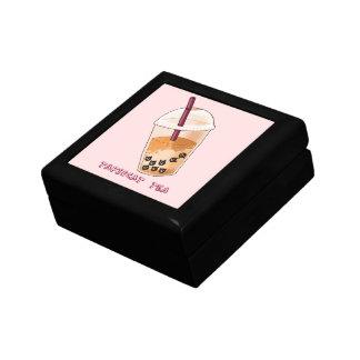 Boîte À Souvenirs Illustration de calembour de thé de Tapiocat