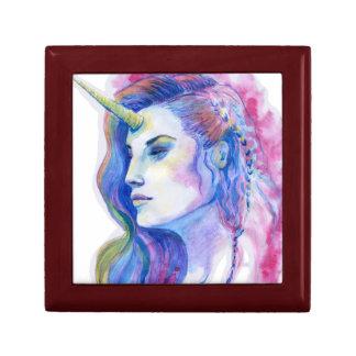 Boîte À Souvenirs Illustration magique violette lumineuse