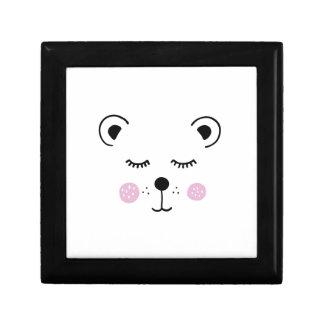 Boîte À Souvenirs Illustration mignonne d'ours