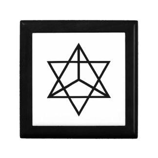 Boîte À Souvenirs Images du nombre 7 : l'étoile tétraédrique