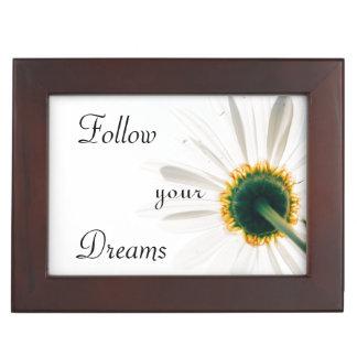 Boîte À Souvenirs   inspirés suivent votre fleur des rêves  