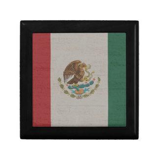 Boîte À Souvenirs International de drapeau du Mexique