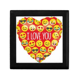 Boîte À Souvenirs Je t'aime coeur d'emoji