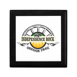 Boîte À Souvenirs Joint de roche de l'indépendance