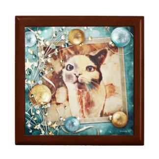 Boîte À Souvenirs Kitty désireux - boîte en bois de souvenir