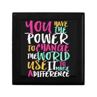 Boîte À Souvenirs La meilleure citation inspirée