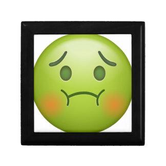Boîte À Souvenirs La note en difficulté Emoji font face