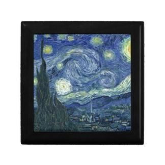 Boîte À Souvenirs La Nuit Etoilée de Van Gogh (The Starry Night)